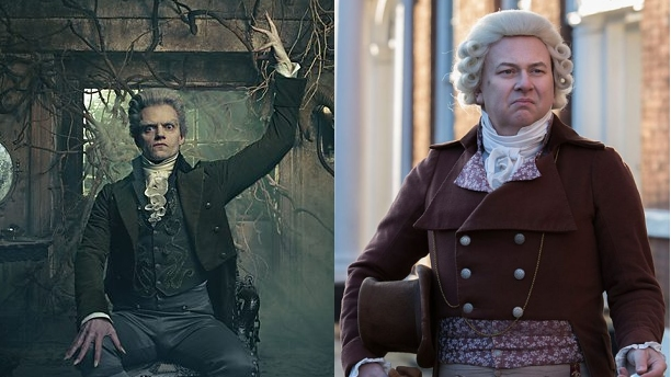 Marc Warren (left) and Vincent Franklin (right) in 'Jonathan Strange & Mr. Norrell.' (Pics: BBC)