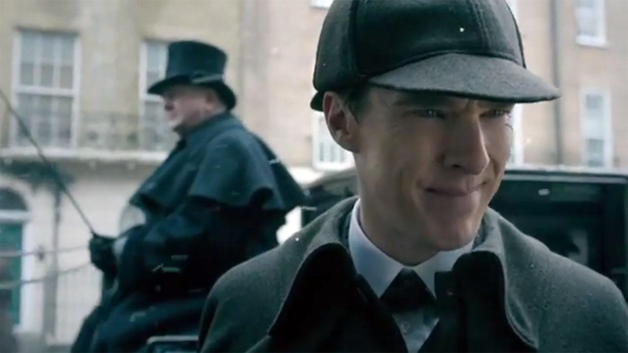 Benedict Cumberbatch in 'Sherlock' (Photo: YouTube)