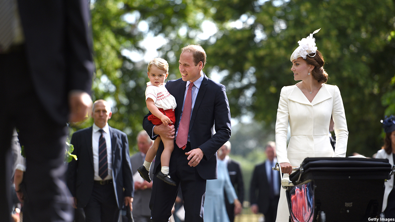 Prince George is a scene-stealer.  (Mary Turner/Getty Images)