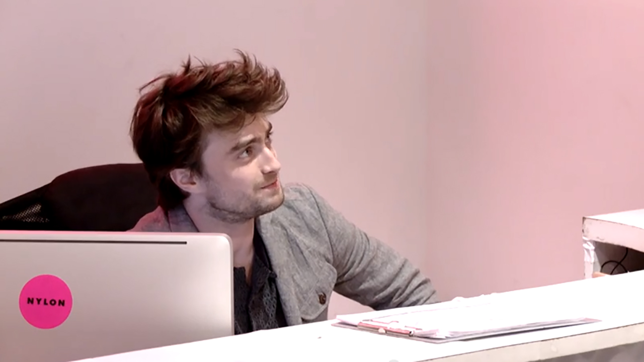 Daniel Radcliffe is at your service. (YouTube)