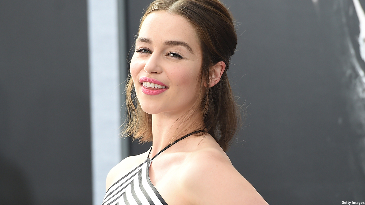 Emilia Clarke turns to her Instagram account to share with fans. (Jason Merritt/Getty Images)