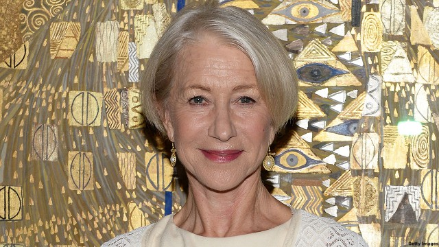 "Actress Helen Mirren Honored By World Jewish Congress For Her Role In Acclaimed Film ""Woman In Gold"" At The Neue Galerie In New York City"