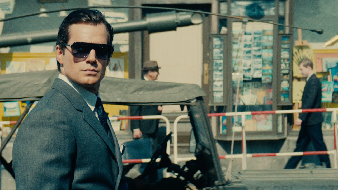 Henry Carvill stars in The Man From U.N.C.L.E. (Warner Bros.)