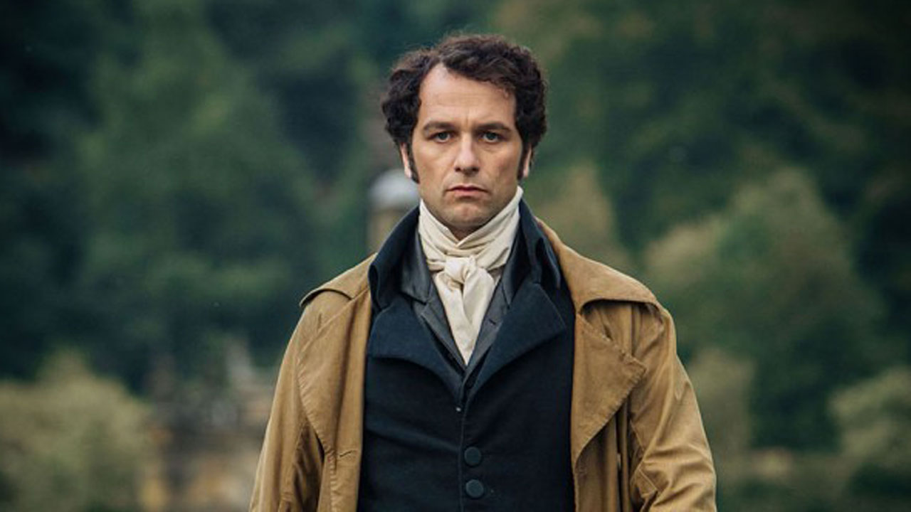 Matthew Rhys takes on the role of Mr. Darcy in Death Comes to Pemberley. (PBS)