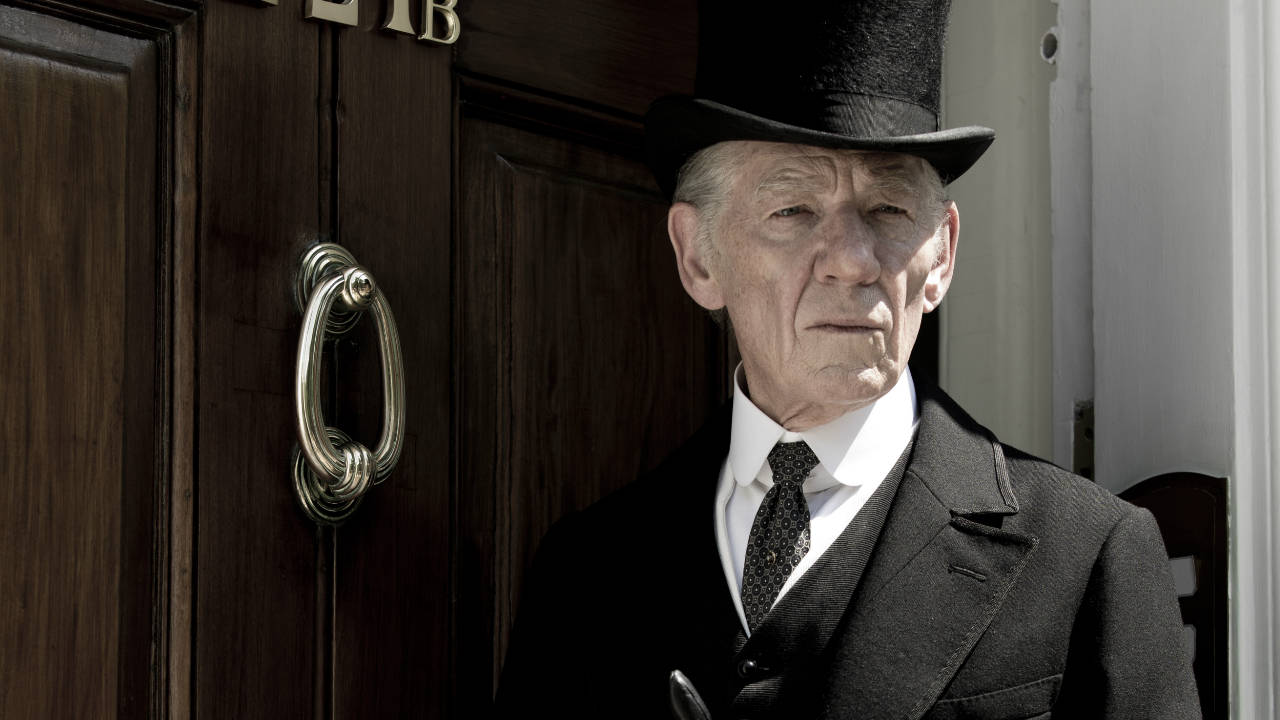 Sir Ian McKellen stars as the famed sleuth Sherlock Holmes in Mr. Holmes. (BBC Films)