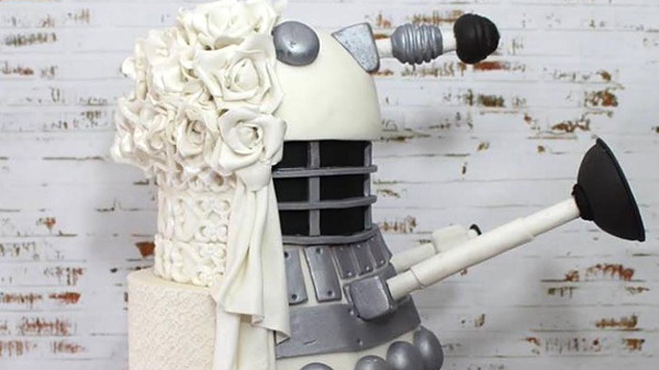The Dalek Wedding Cake (Pic: The Great Cupcake Shop)