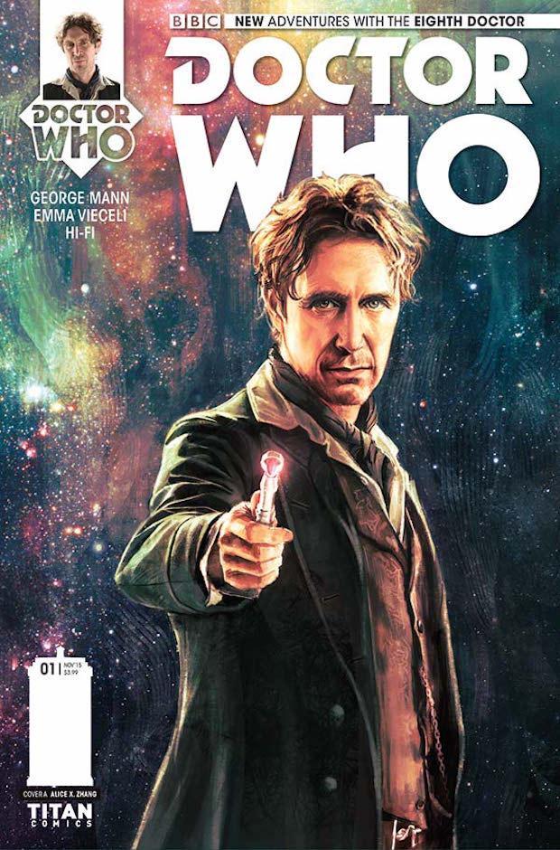 Titan Comics Eighth Doctor
