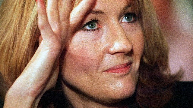 J.K. Rowling in 1999, two years after the release of her first book. (Pic:  Tim Sloan/Getty Images)