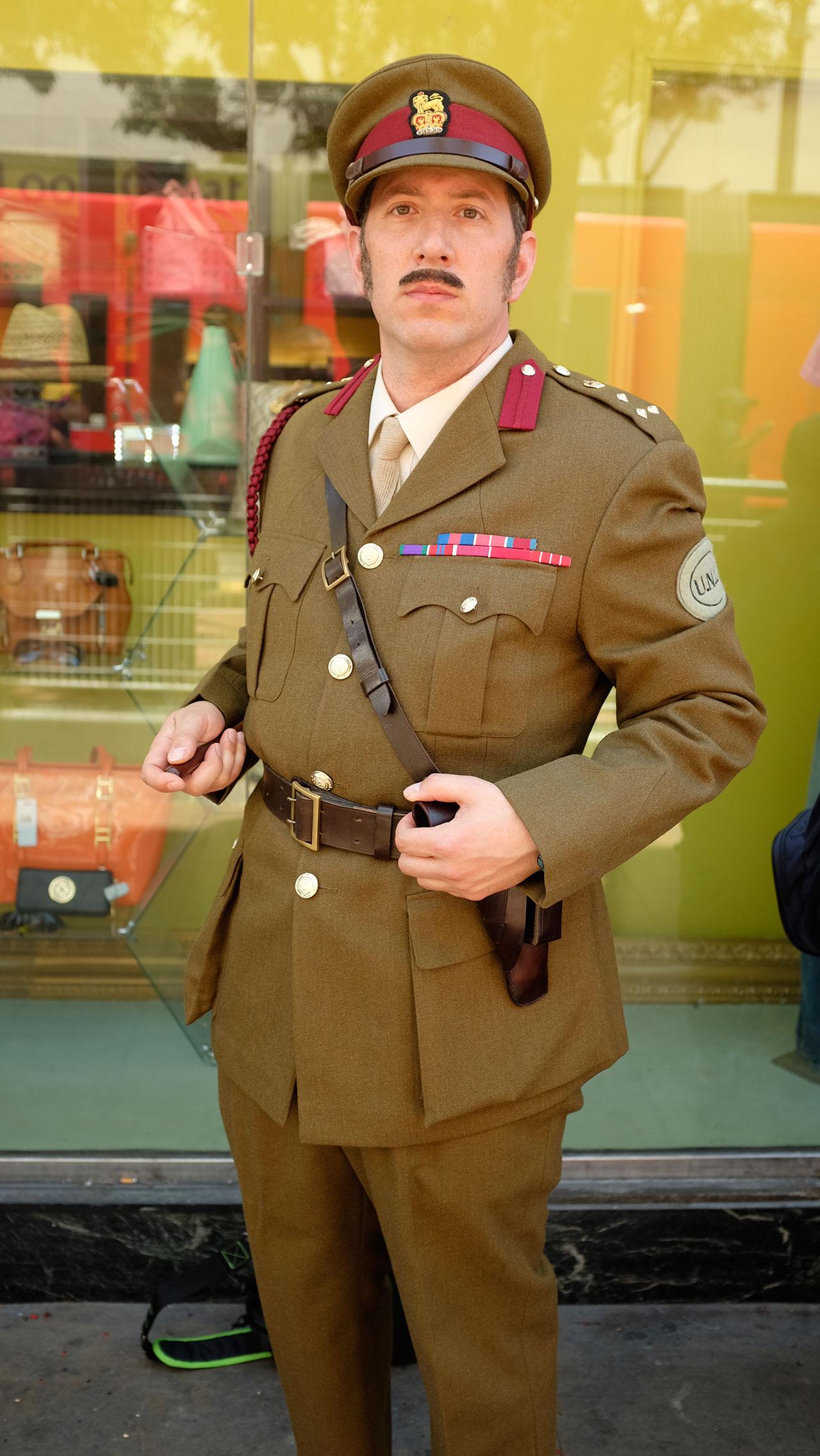 The formidable Brigadier (Photo: Kevin Wicks/BBC AMERICA)