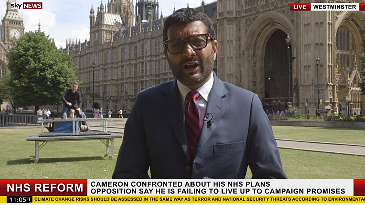 """Sky News"" Reports (Pic: YouTube)"