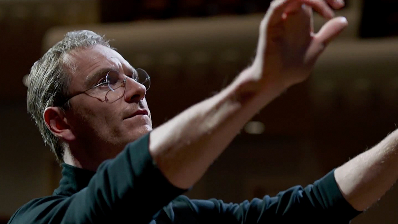 Michael Fassbender in 'Steve Jobs' (Pic: Legendary)