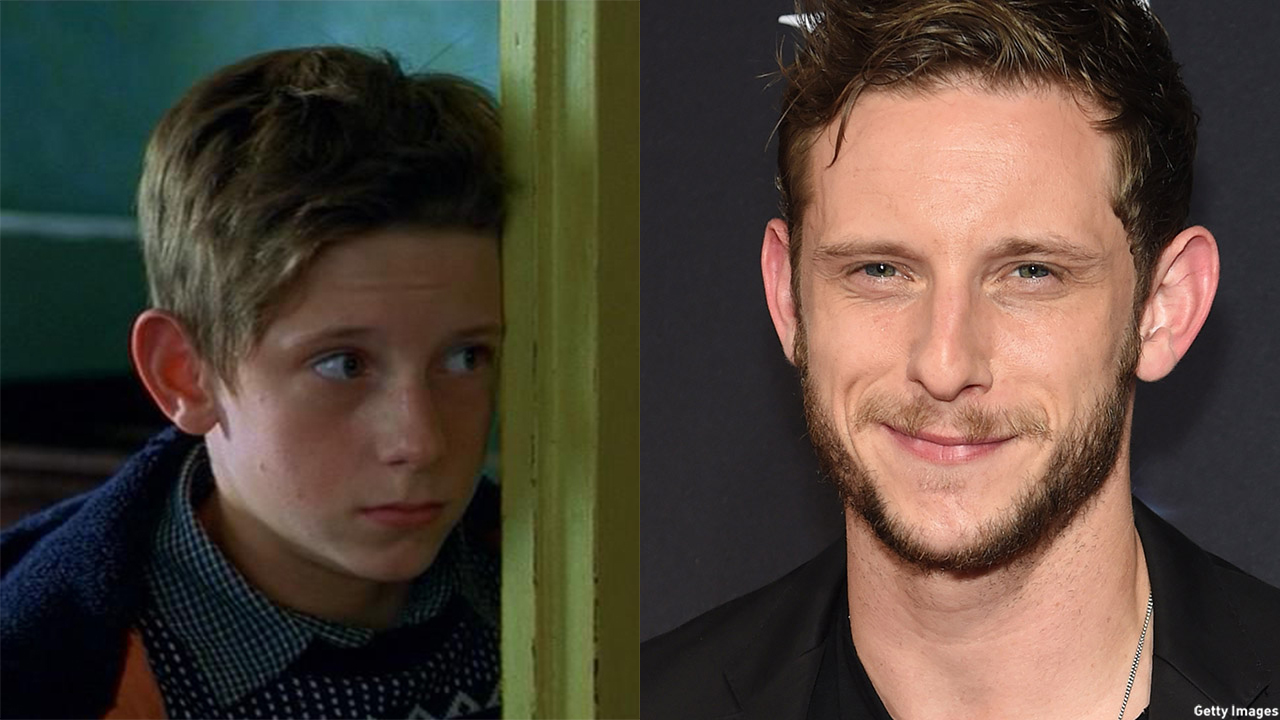 Jamie Bell in 2000's Billy Elliot (left) and in 2015 (right). (BBC Films/Getty Images)