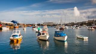 Boats in Penzance harbor, Cornwall (Photo: Milangonda/AP Images)
