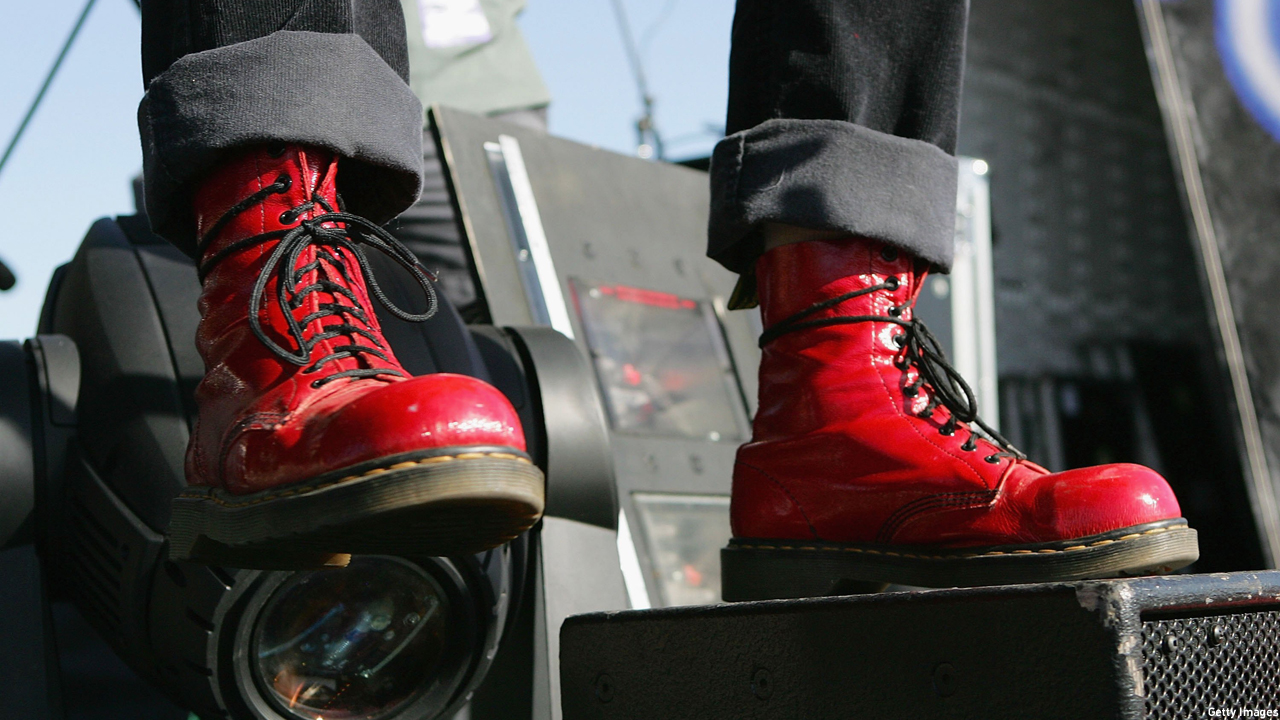 Doctor Martens in action (Photo: Ethan Miller/Getty Images)