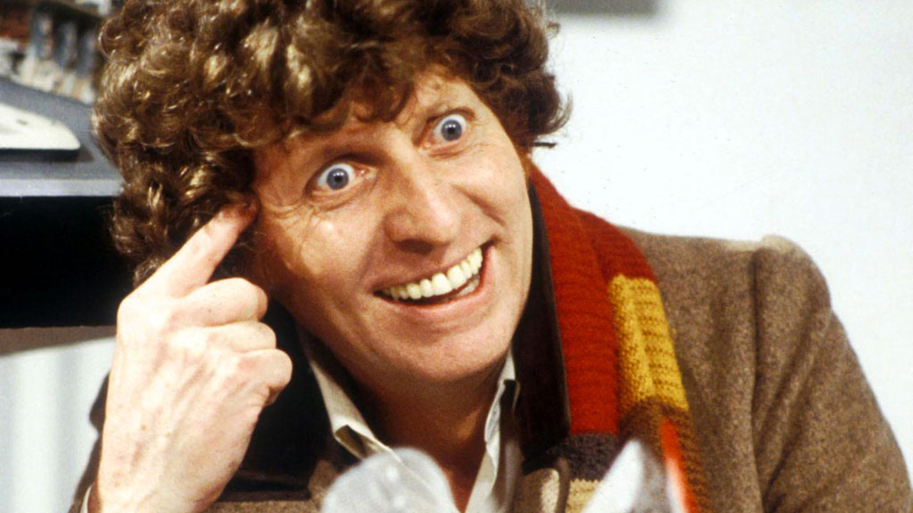 Tom Baker as the Fourth Doctor (Pic: BBC)