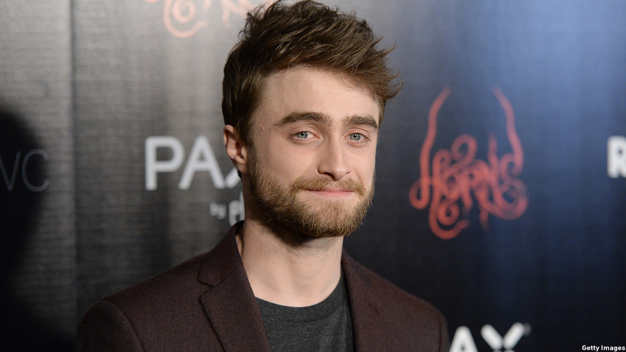 Daniel Radcliffe always looks sharp, but this isn't his new look, please scroll down to view. (Getty Images)