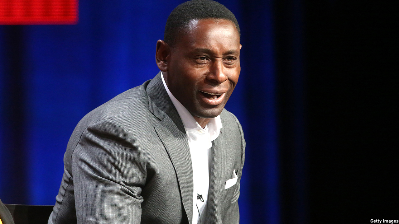 David Harewood attended the 'Supergirl' panel discussion at the CBS portion of the 2015 Summer TCA Tour.  (Photo: Frederick M. Brown/Getty Images)