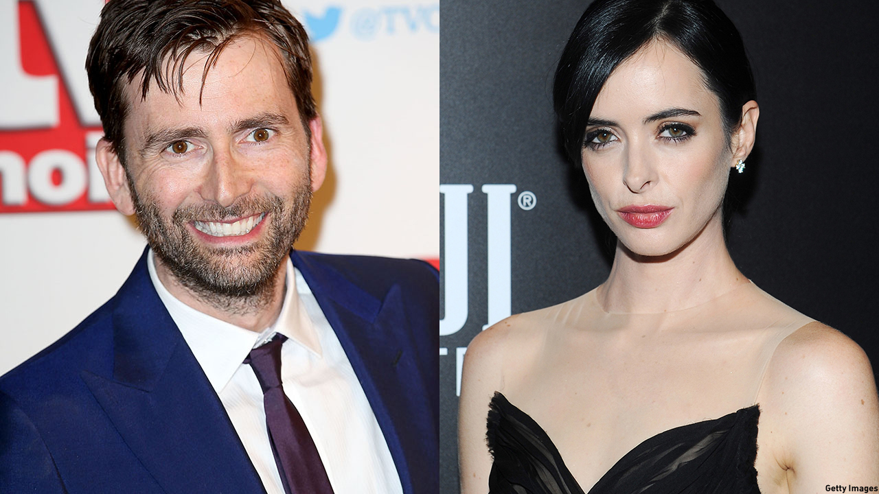 David Tennant and Krysten Ritter star in 'Jessica Jones.' (Getty Images)