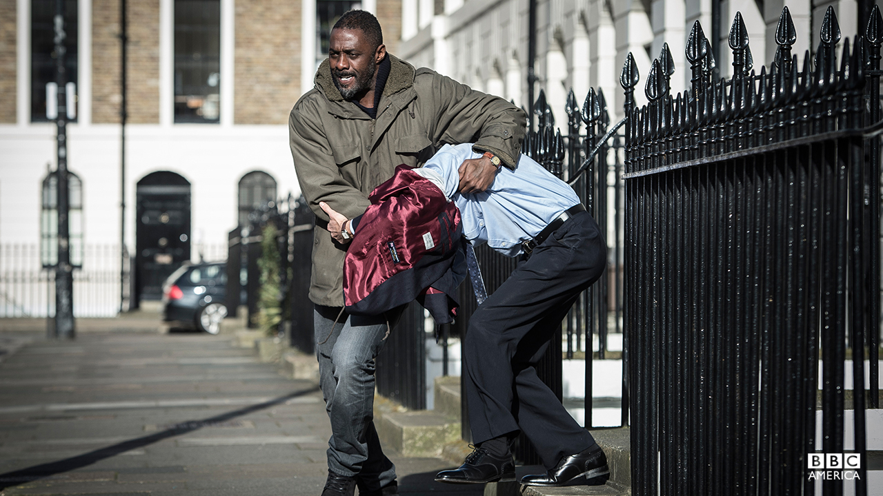 Idris Elba stars in 'Luther.' (BBC America)