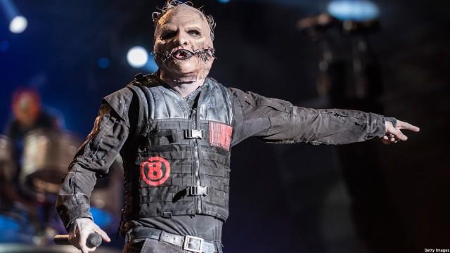 Slipknot's Corey Taylor (Photo: Raphael Dias/Getty Images)