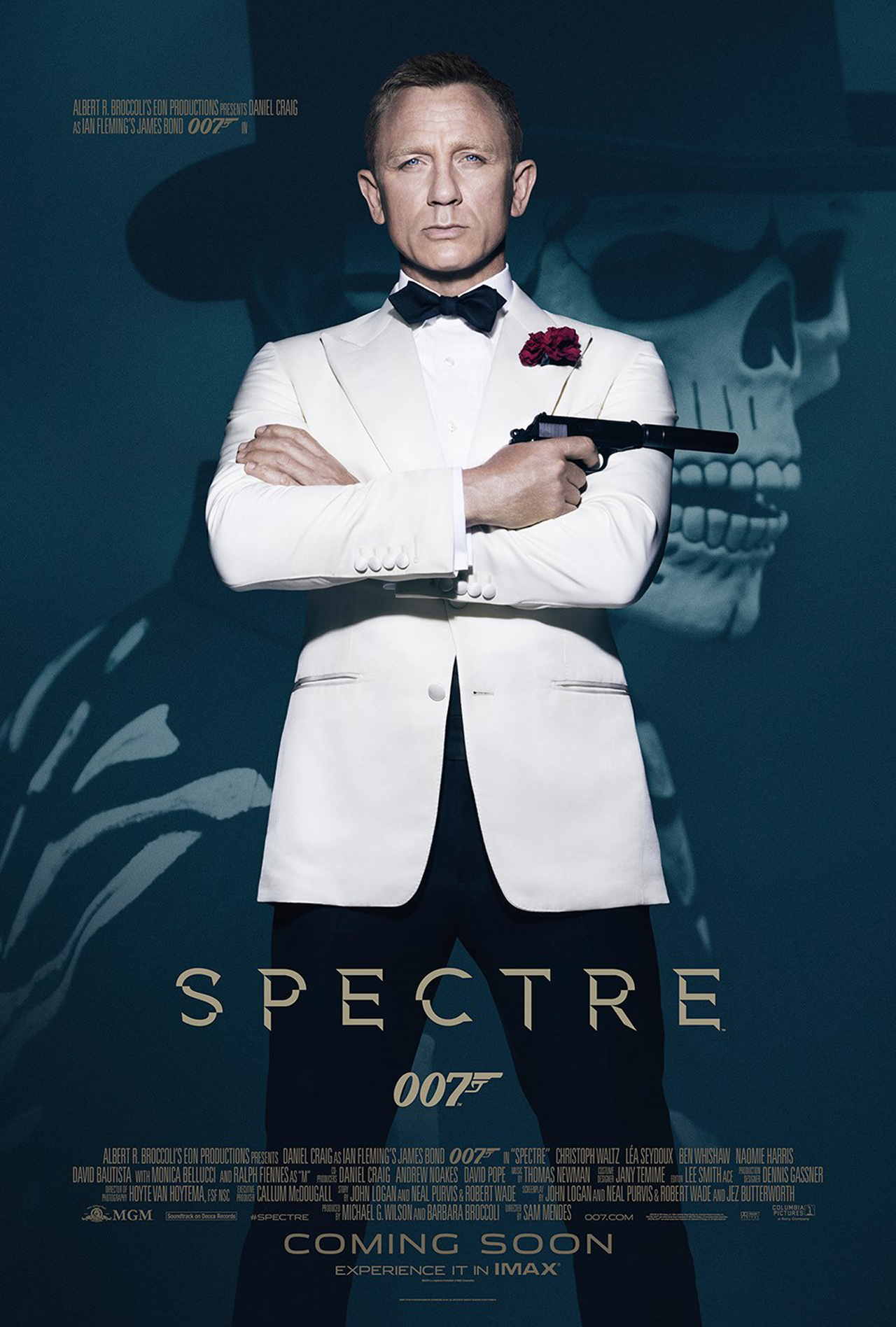 Daniel Craig in 'SPECTRE' (Photo: Eon Productions)
