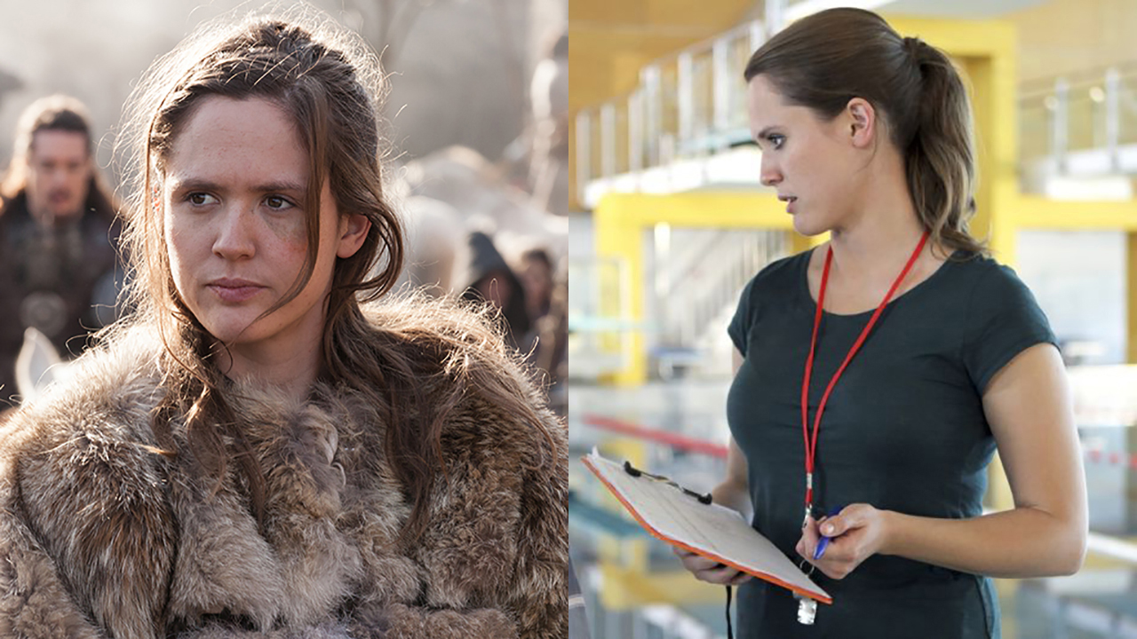 Emily Cox in 'The Last Kingdom' (left) and XX( Photos: BBCA/XX)