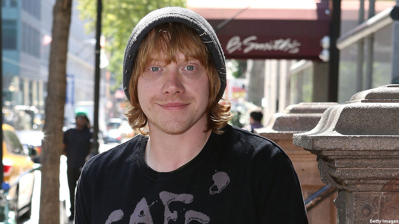 Rupert Grint is snapped in NYC. (Robin Marchant/Getty Images)