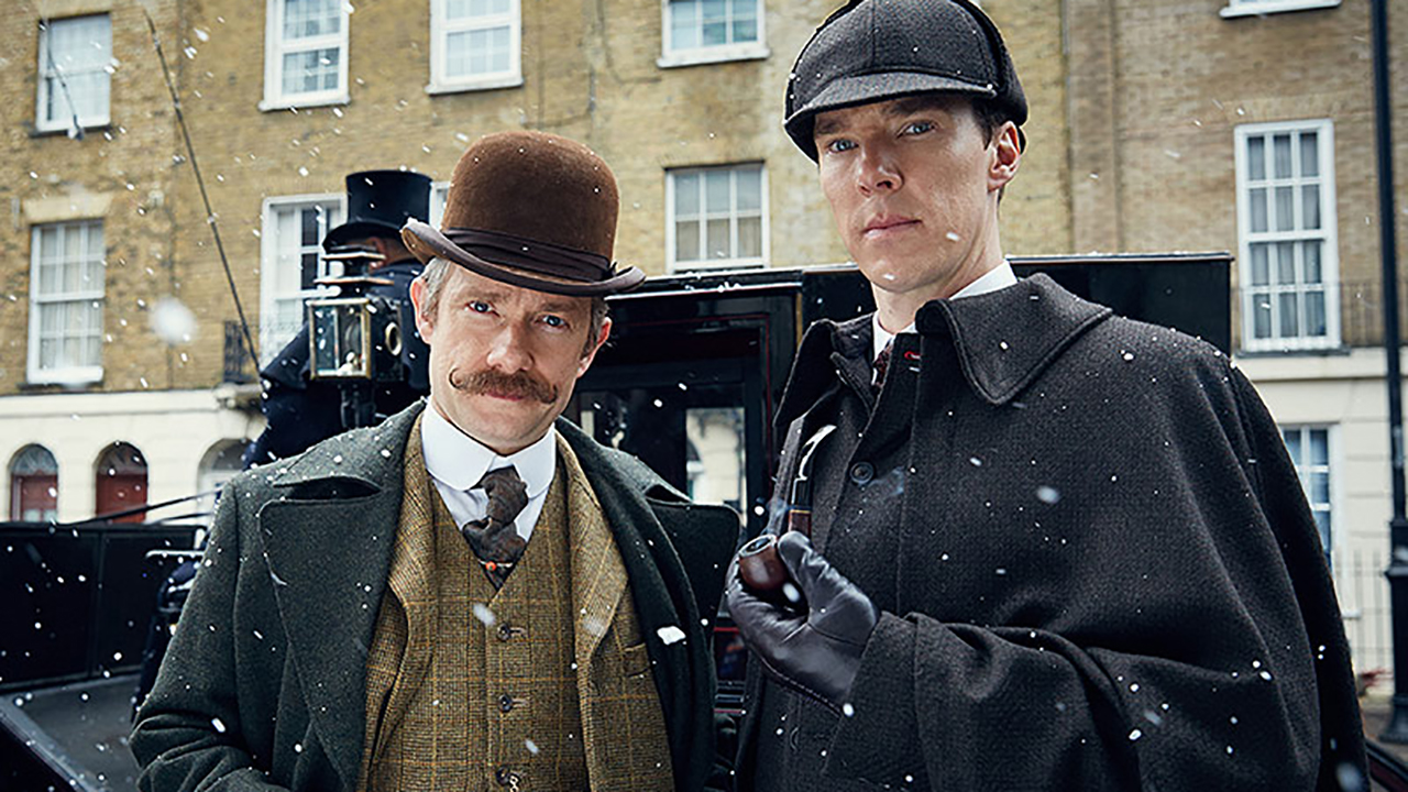 Martin Freeman and Benedict Cumberbatch star in 'Sherlock.' (BBC/PBS)