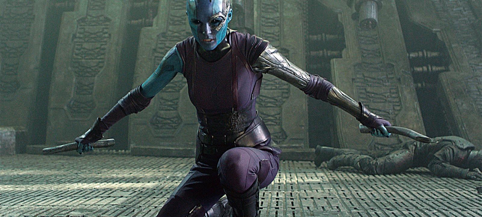 Karen Gillan as Nebula in 'Guardians of the Galaxy' (Photo: Marvel)