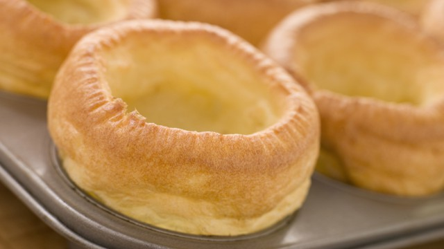 An ungarnished Yorkshire pudding  (Photo: AP Images)