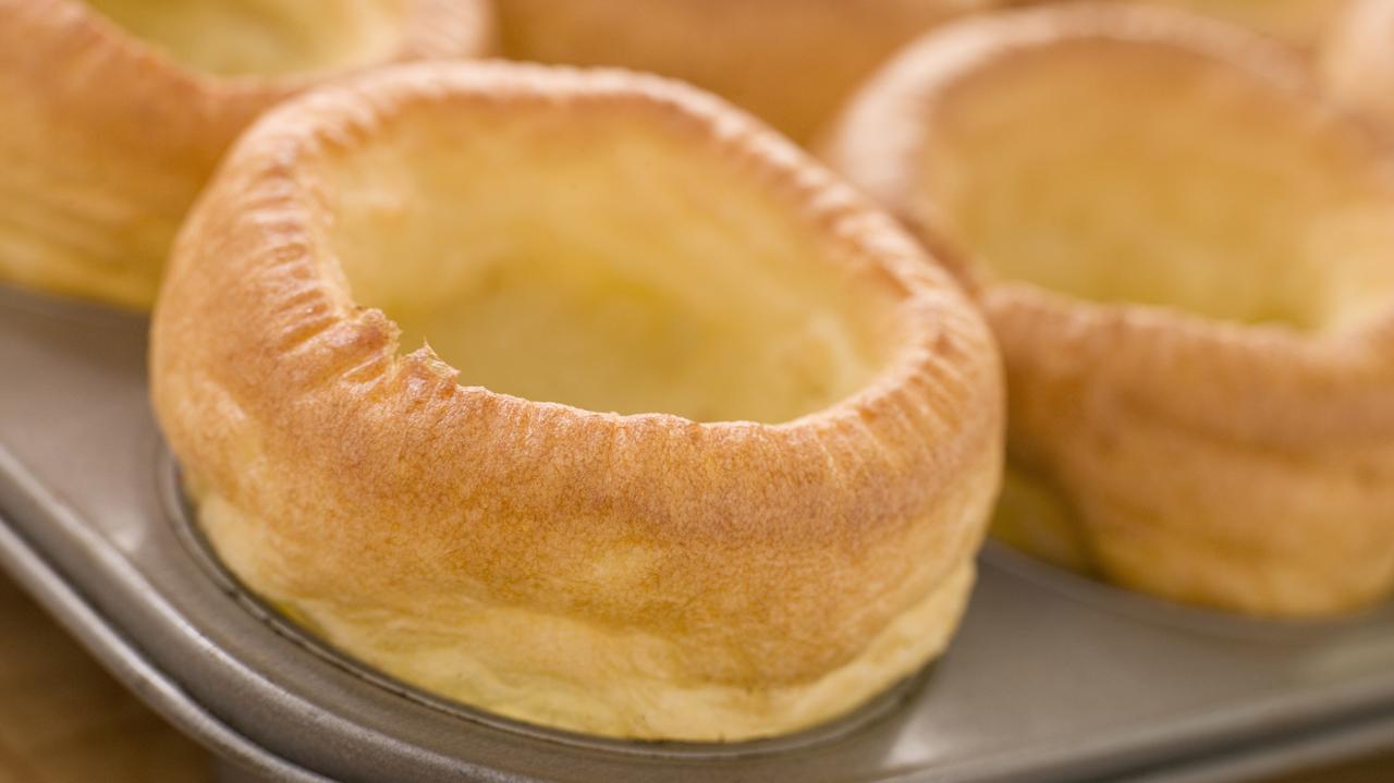 An ungarnished Yorkshire pudding  (Photo: AP Images)