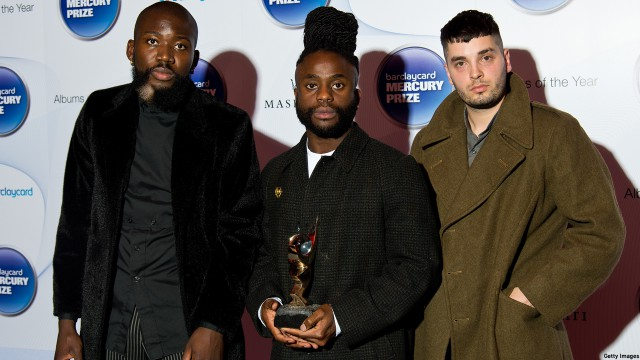 2014 Mercury Prize winners Young Fathers (Photo: Ben A. Pruchnie/Getty Images)