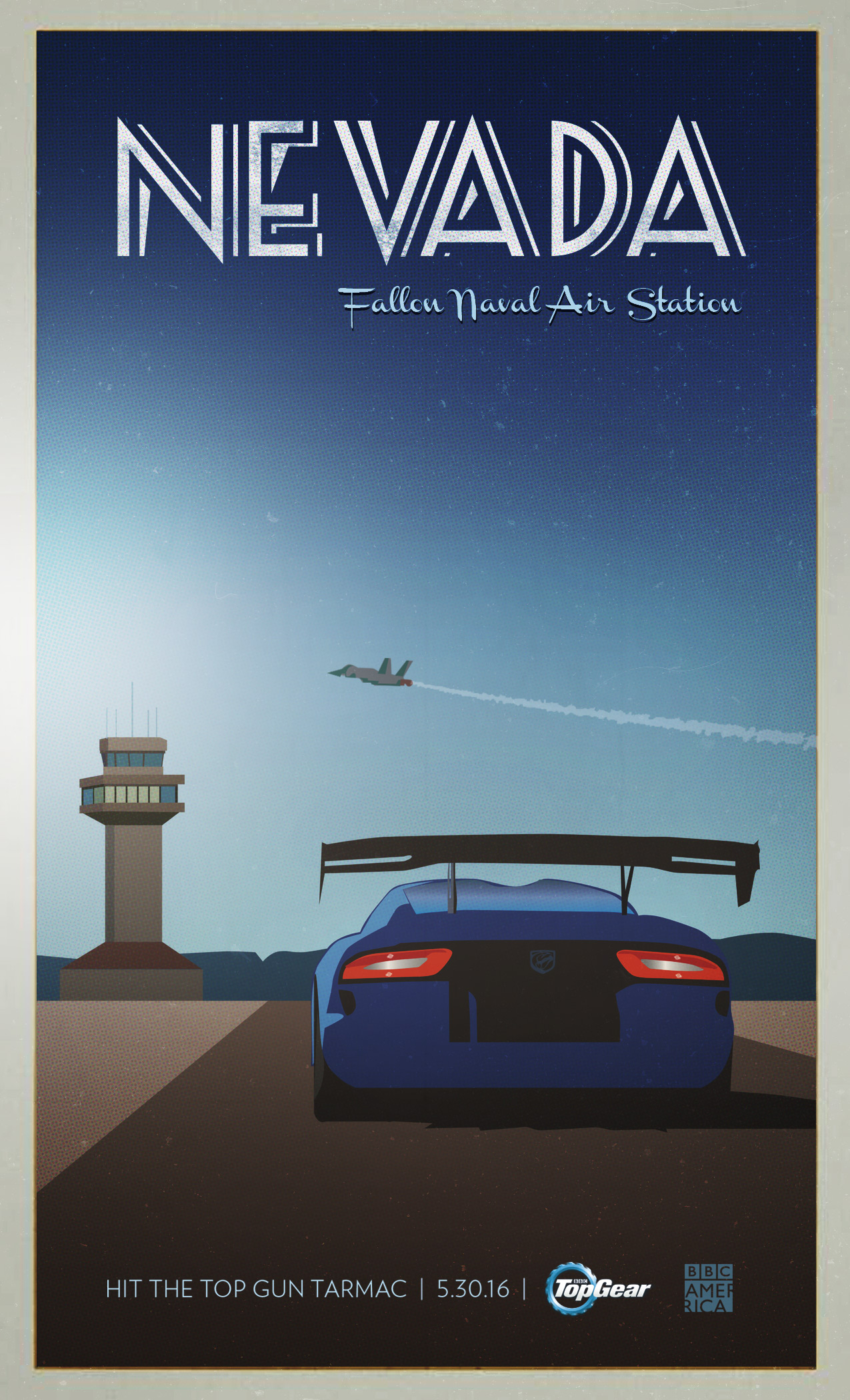 Top Gear Travel Posters Bbc America