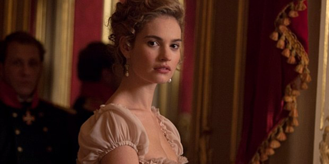 Lily James stars in the TV adaptation of Leo Tolstoy's 'War and Peace.' (BBC)