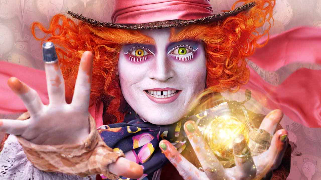 Johnny Depp as the Mad Hatter. (Photo: Walt Disney Pictures)