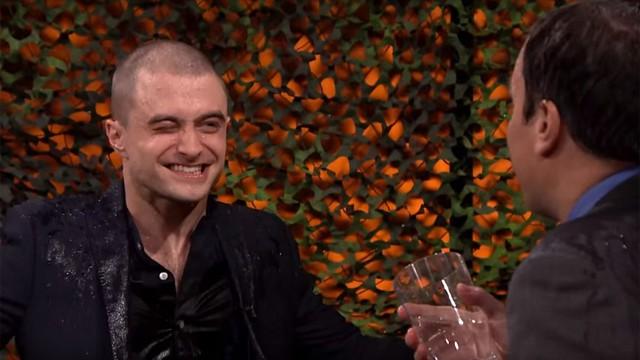 Daniel Radcliffe and Jimmy Fallon (Photo: NBC)