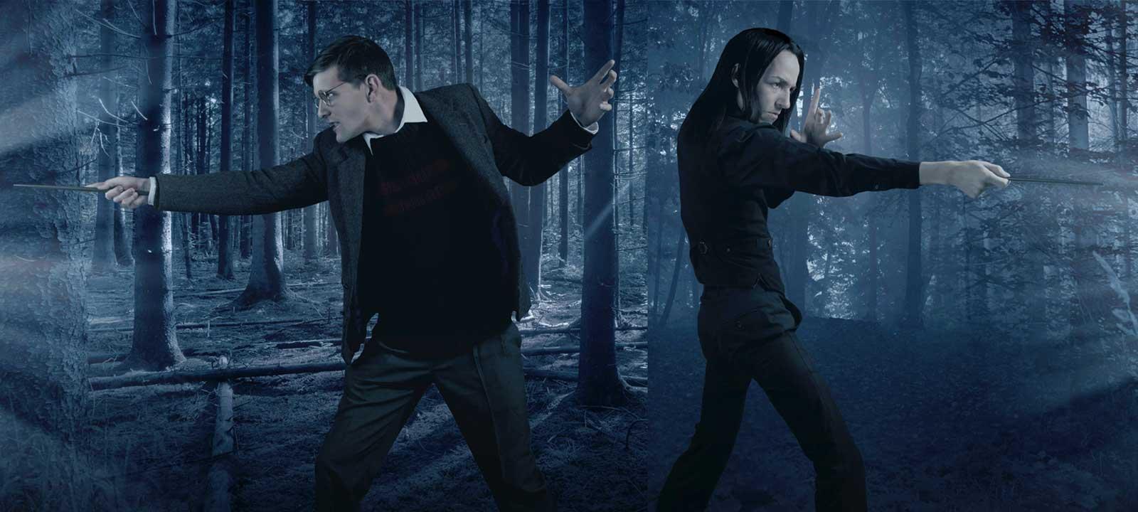 'Severus Snape and the Marauders' (Photo: Broad Strokes)