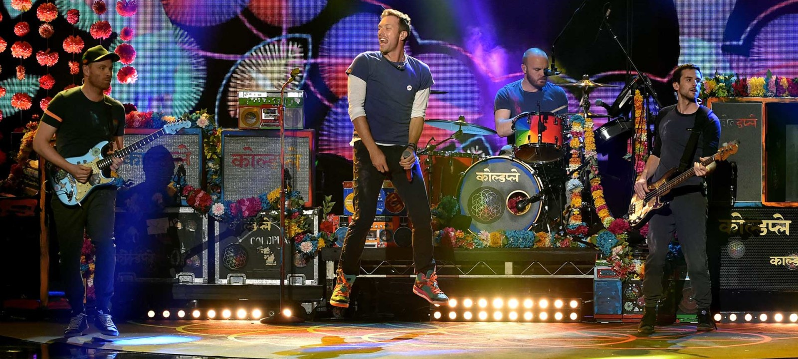 Coldplay in concert (Photo: Kevin Winter / Getty Images)
