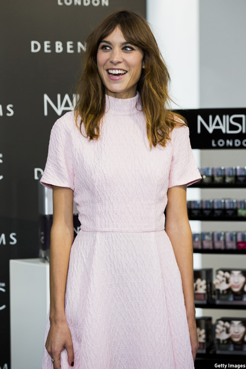 Alexa Chung (Photo: Getty Images)