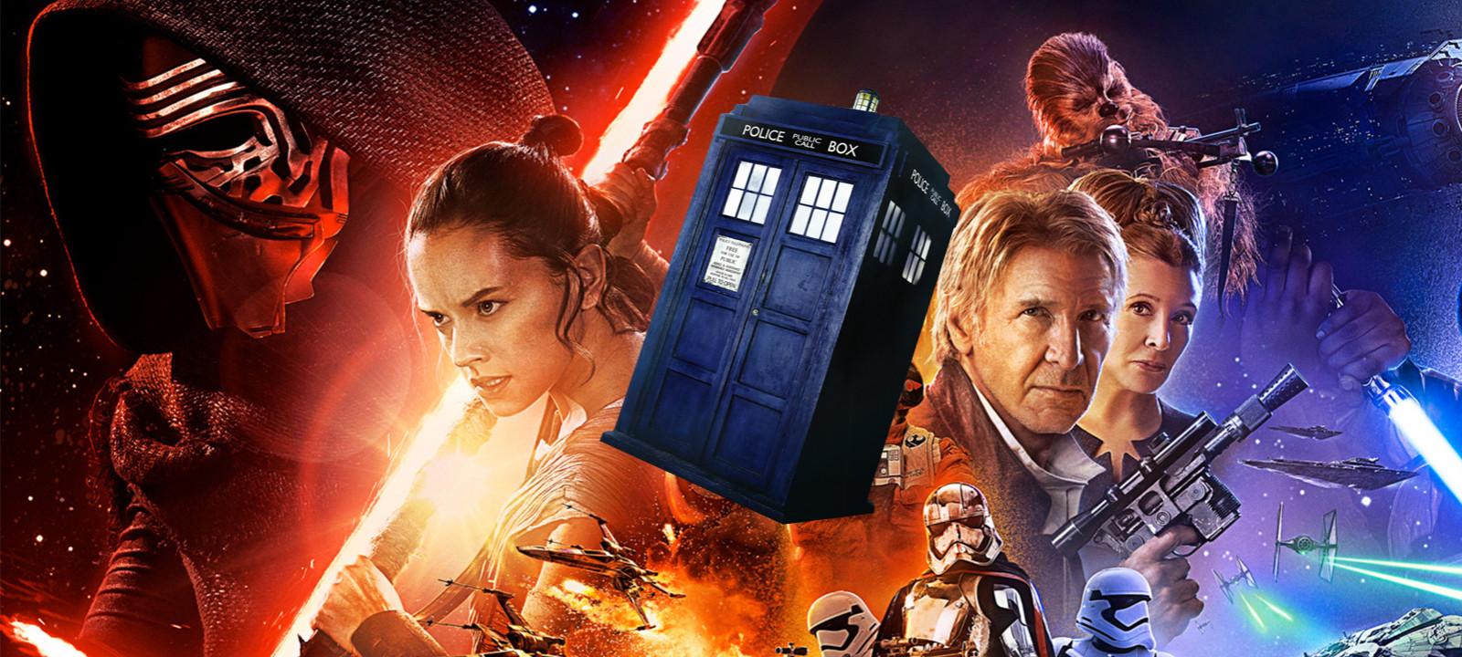 Star Who, anyone? (Photos: Lucasfilm/BBC)