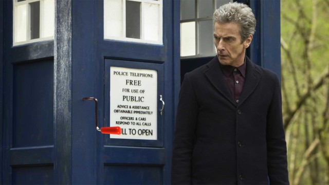 The TARDIS has a new feature (Photo: BBC)