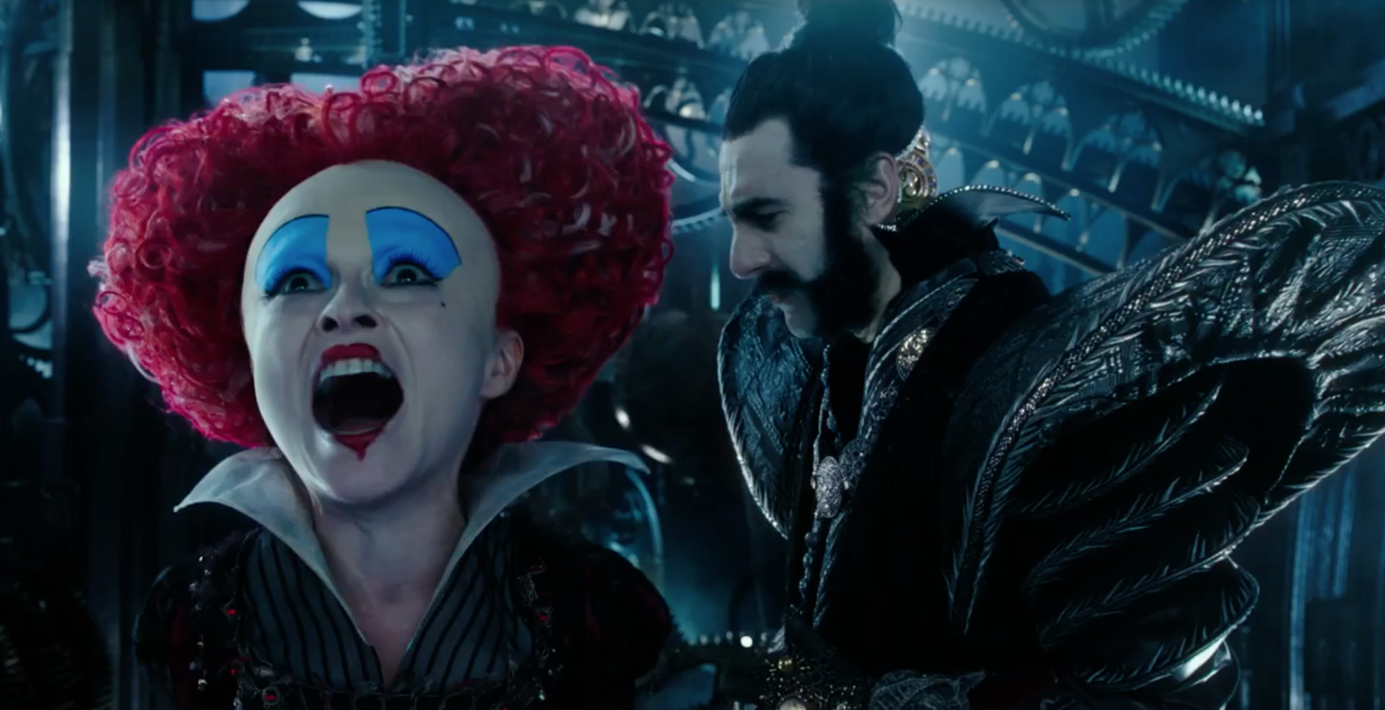Watch New Alice Through The Looking Glass Trailer Anglophenia
