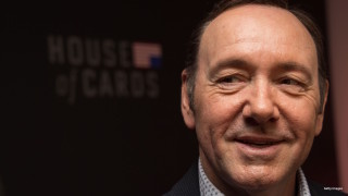 "Actor Kevin Spacey arrives at the season 4 premiere screening of the Netflix show ""House of Cards"" in Washington, DC, on February 22, 2016."