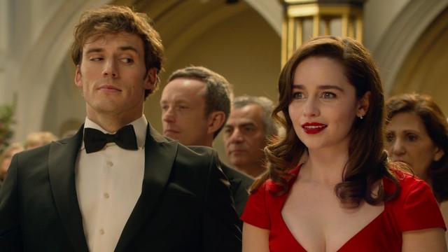 Sam Claflin and Emilia Clarke in 'Me Before You'