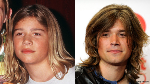 Zac Hanson then and now.