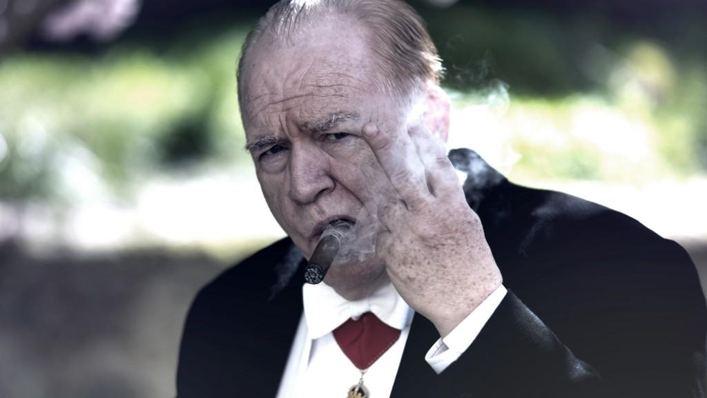 Brian Cox as Sir Winston Churchill. (Photo: Salon Churchill Limited 2016 / Graeme Hunter)