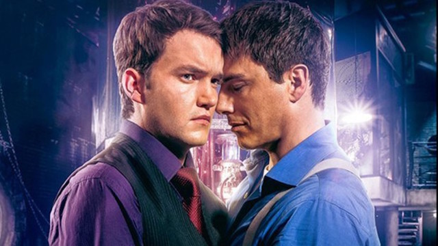 Gareth David-Lloyd and John Barrowman in 'Torchwood: Broken'