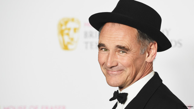 Mark Rylance, accepting the Best Drama award for 'Wolf Hall', poses in the Winners room at the House Of Fraser British Academy Television Awards 2016  at the Royal Festival Hall on May 8, 2016 in London, England.