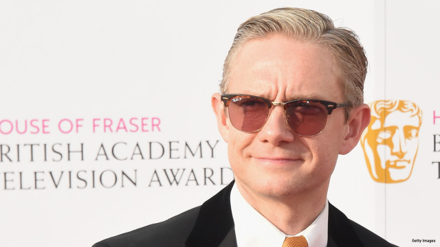 Martin Freeman attends the House Of Fraser British Academy Television Awards 2016  at the Royal Festival Hall on May 8, 2016 in London, England.