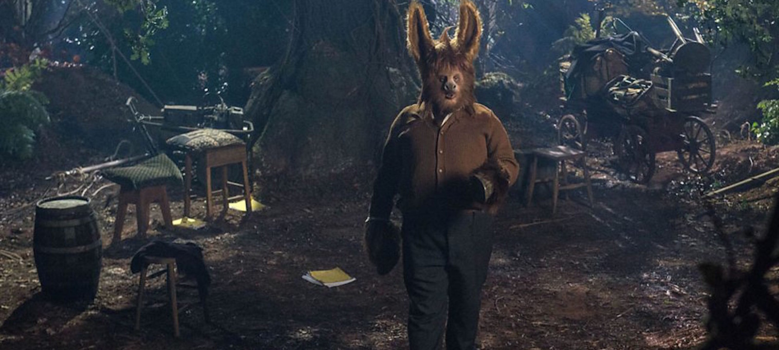 Matt Lucas plays Bottom in Russell T. Davies' TV adaptation of 'A Midsummer Night's Dream'